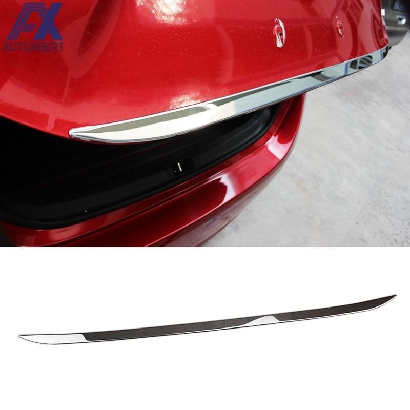 Rear Chrome Trunk Tailgate Molding Trim For Porsche Models