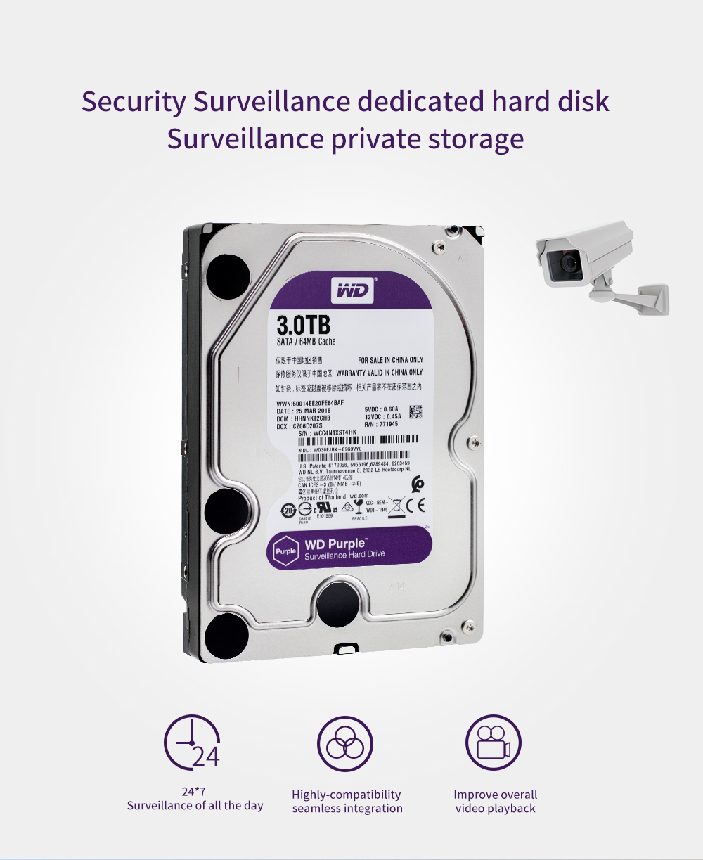 WD30EJRX High Quality 3tb hdd