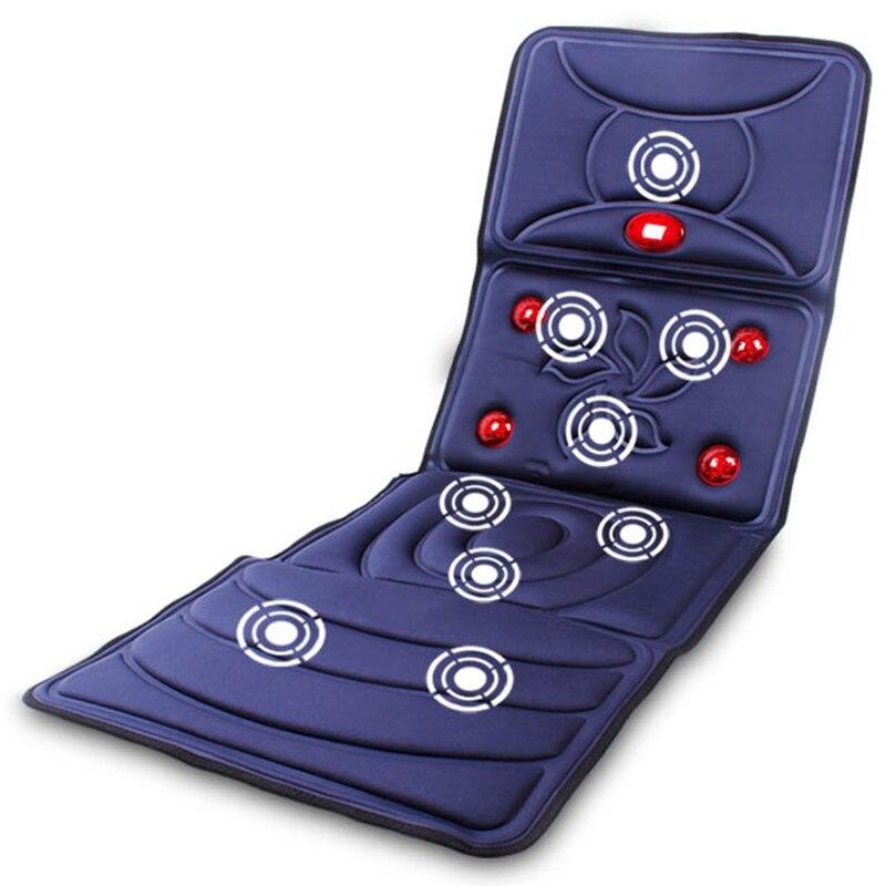 Matelas de Massage, massage multifonctionnel couverture, moyen et vieillesse soins de santé Massage du corps, cou massage du dos chaise coussin