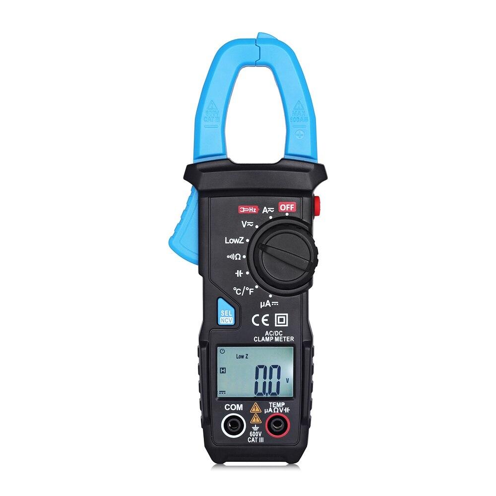 Bside UT203 Low Resistance / Temperature Measurement AC / DC Clamp Meter Multimeter Amper Voltage Tester Current Pincer Current