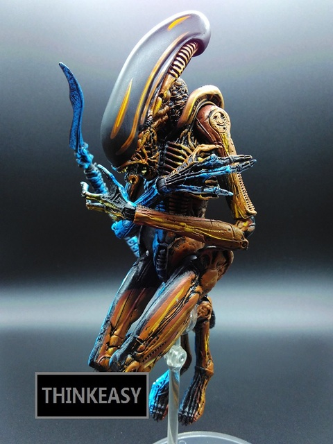 Aliens vs. Predator Joint can move doll movie Person Model Decoration figure Toys gift Office computer table decorate