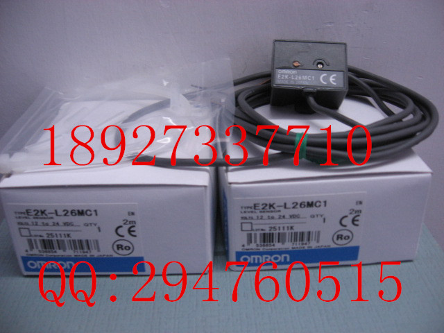 [ZOB] 100% new original OMRON Omron proximity switch E2K-L26MC1 2M new original proximity switch im12 04bns zw1
