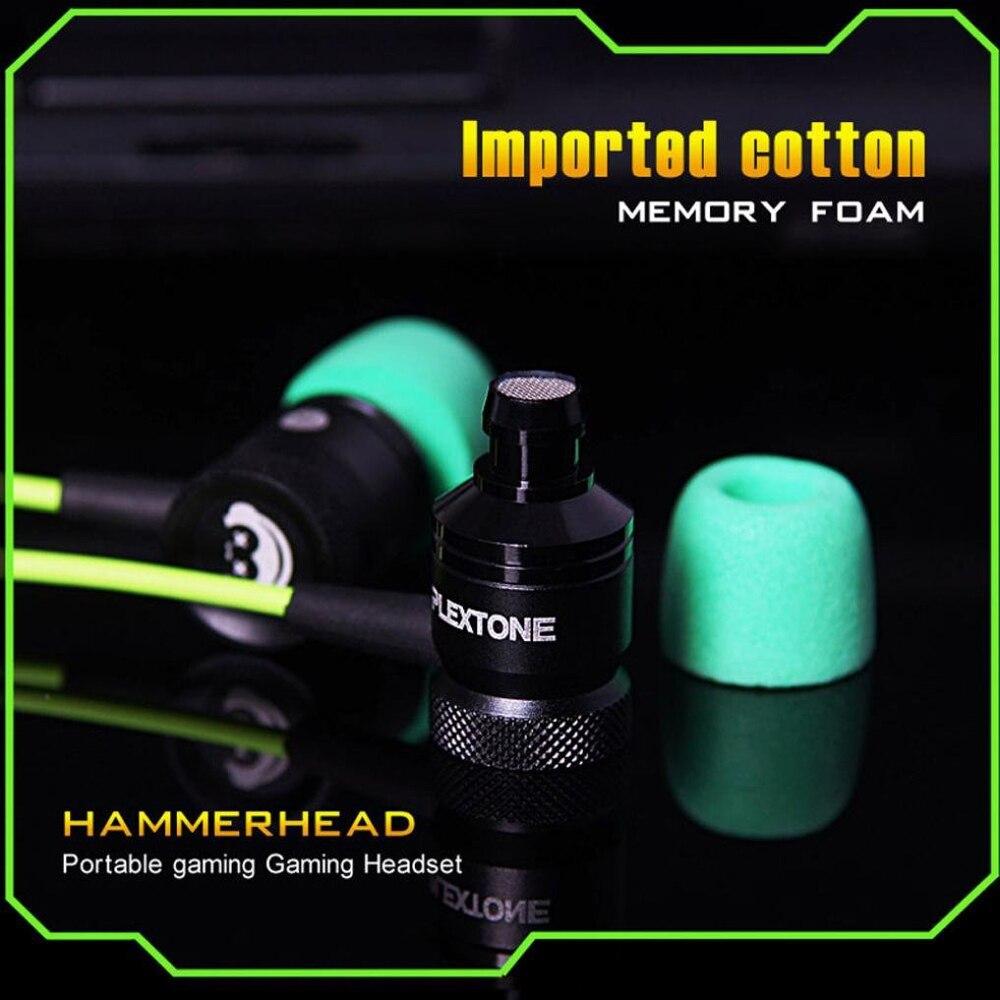 Plextone G10 Игровые наушники 3.5 мм в ухо Шум шумоподавления стерео наушники с микрофоном по сравнению молот и для телефона компьютер
