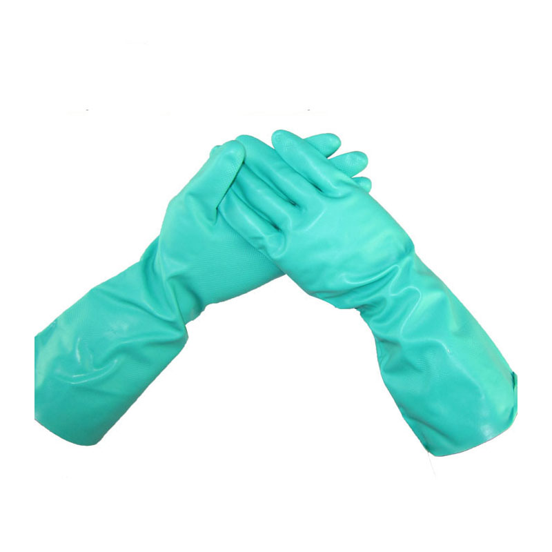 Green Chemical gloves oil resistant lengthen industrial gloves for farmers Pesticide spraying free size for all G1043 смеситель для мойки коллекция merkur 26166 однорычажный хром kaiser кайзер