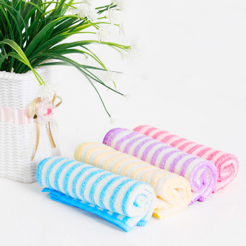 Household microfiber cleaning towel environmental protection no water marks hair kitchen dishcloth bedroom table cleaning cloth