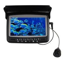 """Super Mini 600TVL Câmera Subaquática com DVR Função & AV 15 metros/cabos de Energia & 3.5 """"Digital Monitor LCD com Pára-Sol Capa"""