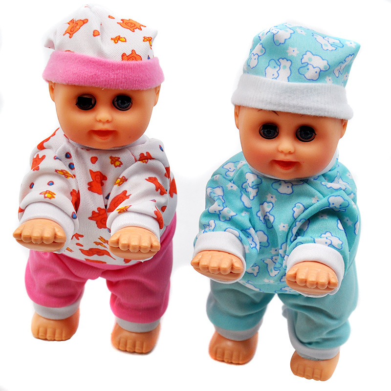 Lovely Baby Infant Electric Music Crawling Baby Talking Singing Dancing Doll Early Learning Toy Say Mama Daddy Laugh Crawl Doll