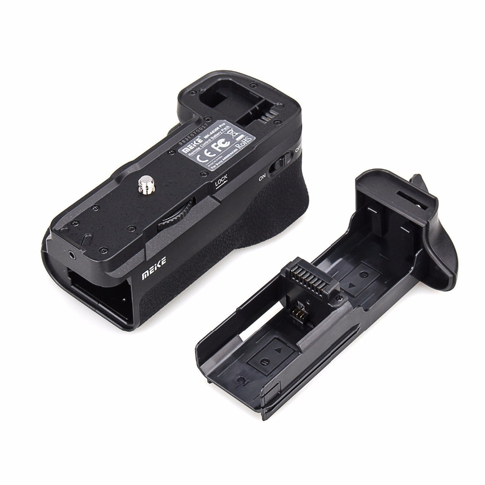 Meike MK-A6300 Vertical Multi Power Battery Hand Grip for Sony A6300 A6000 Camera