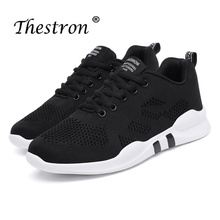 Thestron Women Running Shoes Spring Autumn Fitness Sneakers Black Pink Ladies Mesh Lightweight Sports For Female