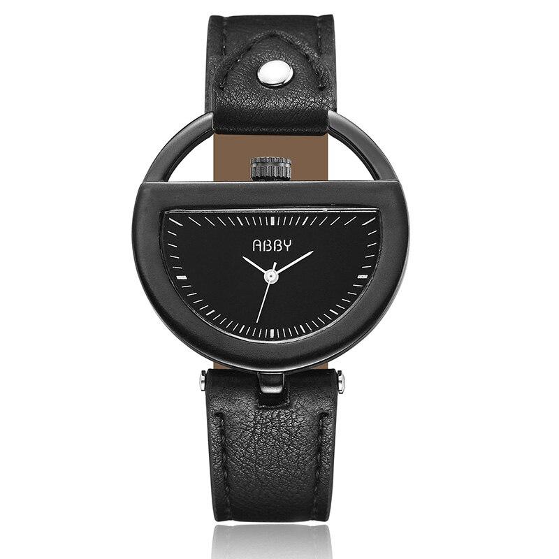 Simple Minimalist Hollow Creative Unique Casual Dress Women Men Wristwatches Fashion Luxury Hodinky Relogios Feminino Clock