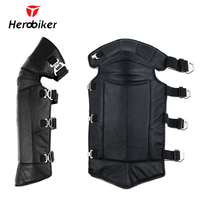HEROBIKER Motorcycle Knees Pads Keep Warm Protect Thick Warm Knee Pads Winter Cold Windproof Rider Genuine