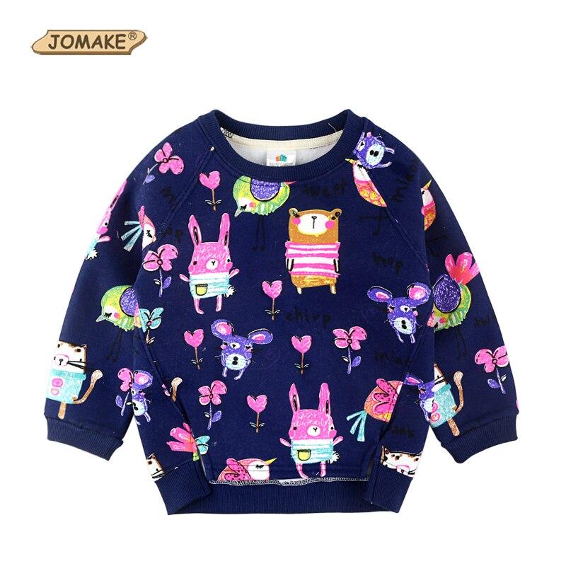 7a89f8717cf0b Animais Graffiti Padrão Crianças T-shirt Outono Roupas Crianças Dos  Desenhos Animados Roupa Bonito Do Bebê Das Meninas Dos Meninos Hoodies  Camisolas 3 Cores
