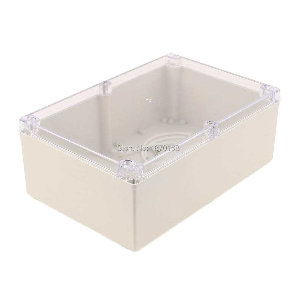 240mmx160mmx90mm Transparent Cover Sealed Box Waterproof Junction Box Enclosure