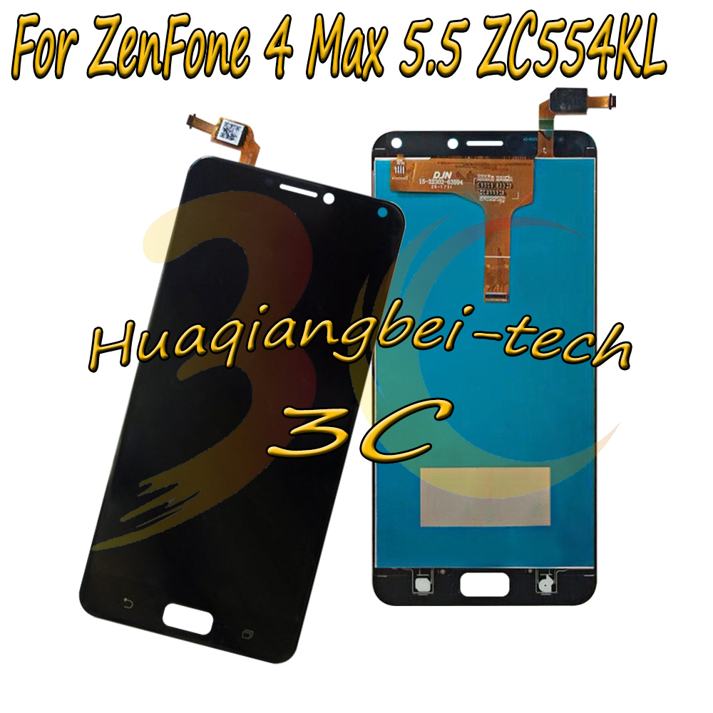 5.5 '' New For Asus ZenFone 4 Max 5.5 ZC554KL X00IS X00ID Full LCD DIsplay +Touch Screen Digitizer Assembly 100% Tested
