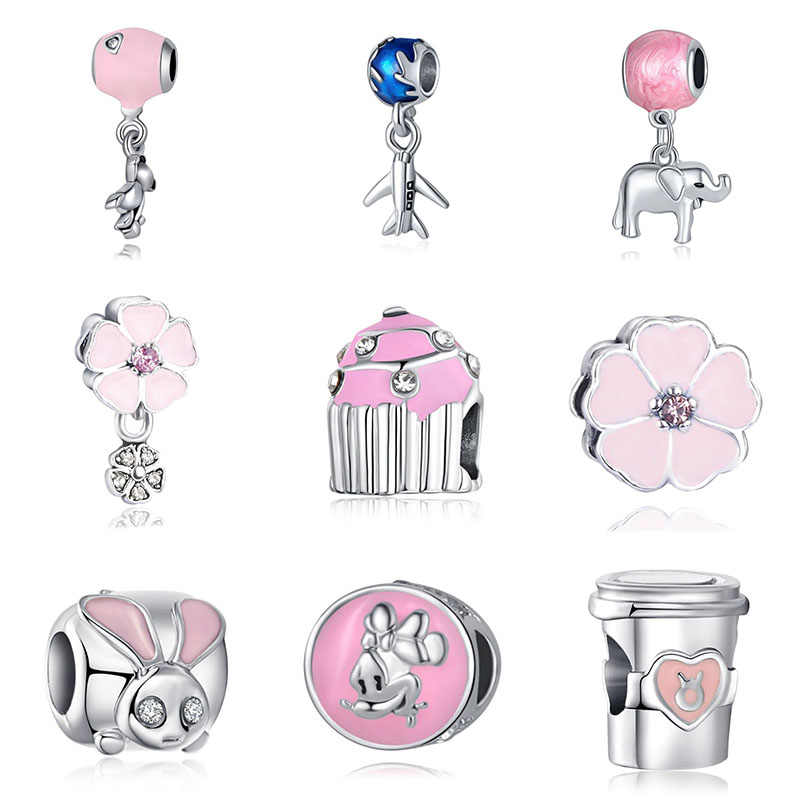 Fit Pandora Bracelet Berloque Beads Mary Poppins Silver Joyas De Plata 925 Jewelry Bijoux Witchcraft Sieraden Jewellery Charms