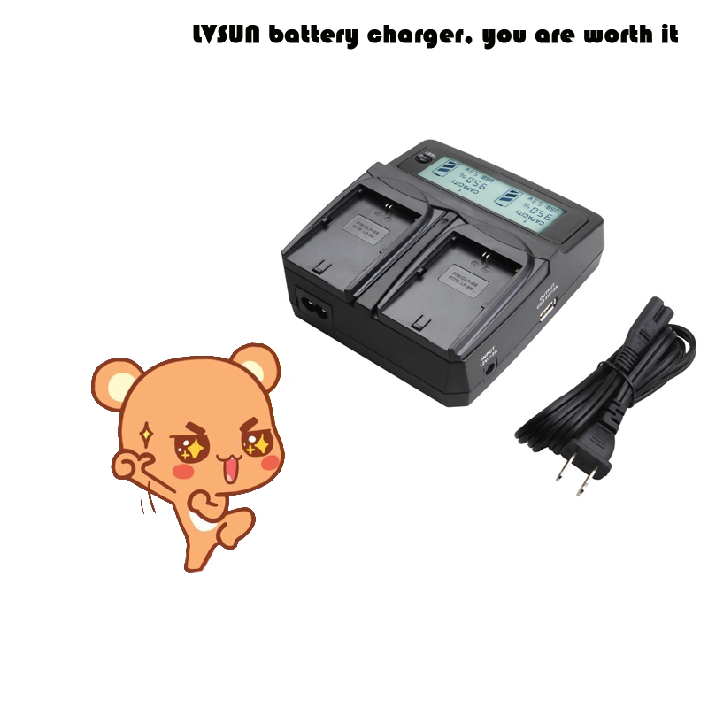 LVSUN NB6L NB-6L NB 6L 6LH NB-6LH NB6LH Dual Battery Charger for Canon IXUS 85/95/105/200/210/310/300 PowerShot D10/S90 Cameras ismart replacement nb 5l 3 7v 1200mah battery for canon powershot sx230hs sx210is more page 1
