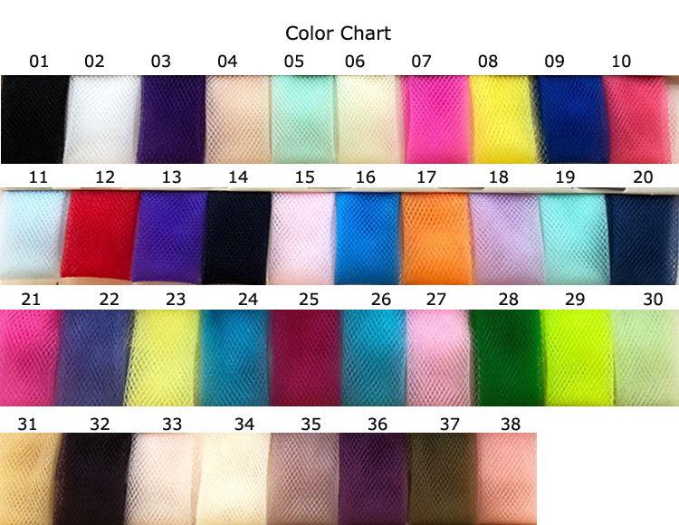 Baby Girls Rainbow Pastel Tutu Skirt Fluffy Nylon Tulle Tutus For
