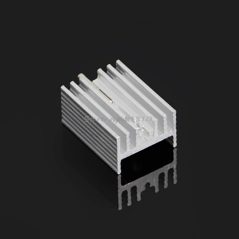 10 հատ հատ ալյումինե Heatsink տրանզիստորի - Համակարգչային բաղադրիչներ - Լուսանկար 4