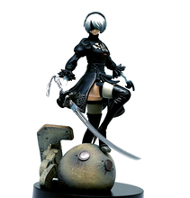 12cm PS4 Game NieR Automata YoRHa No. 2 Type B 2B With Sword Cartoon Toy Action Figure Model Toys Doll Gift