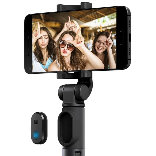 Original xiaomi Selfie Stick for Phone Bluetooth Mini Tripod Selfiestick with Wireless Remote Shutter For iPhone Samsung Android 1