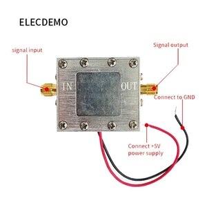 Image 2 - Düşük gürültü amplifikatör geniş bantlı RF sinyal amplifikatörü LNA (0.005 4GHz 19dB gürültü 0.7dB) Beidou