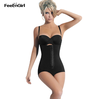 FeelinGirl Hot Shapers Fajas Fajas Reductoras Butt Lifter With Tummy Control Belt Summer Minceur Slim Shapewear