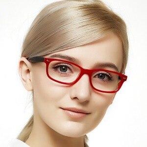 Image 2 - Occiキアリ女性2018アセテート近視フレーム光学デミピンク眼鏡眼鏡W CERIO