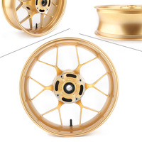 Gold Motorcycle Rear Wheel Rim Fits For Honda CBR600RR F5 2013 2014 2015 2016 2017 2018