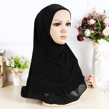 14 colors  solid plain hijab scarf fashion wraps foulard Polyester maxi shawls soft long islamic muslim scarves hijabs