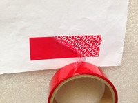 Free Shipping Custom Tamper Evident Tape Self Adhesive Security Seal Anti Counterfeit Label Partial Transfer VOID