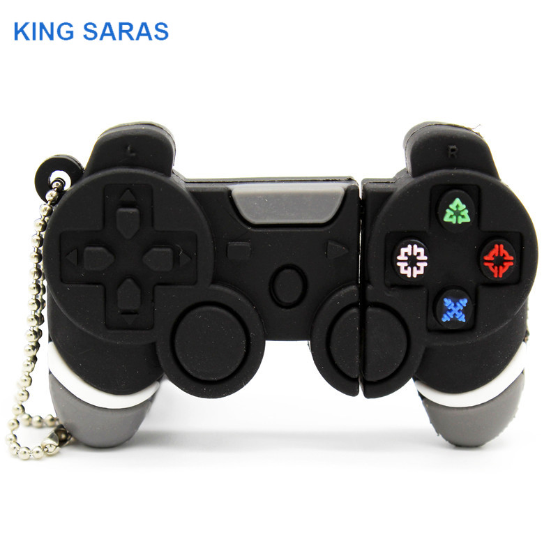 KING SARAS Cartoon Electronic Gamepad Model Usb2.0 4GB 8GB 16GB 32GB 64GB  USB Flash Drive Pendrive