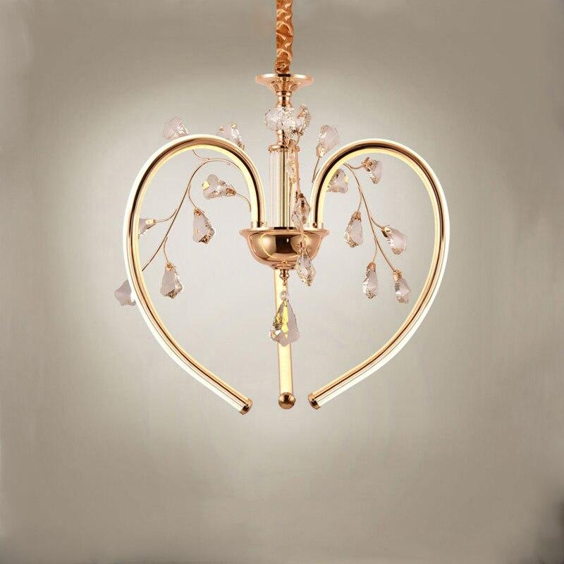 купить contemporary led luxury K9 crystal small hanging pendant lights round dining table lighting 48W CE ETL SAA for hotel project по цене 6119.1 рублей