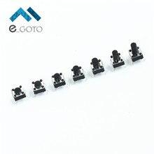 Всего 70 шт. горизонтальная кнопка включения сумка Микро сенсорная кнопка Тактильные Настенные переключатели Вышивка Крестом Пакет 6*6*4.3/5 /6/7/8/9/10 7 типов каждый 10 шт.