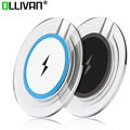 High Quality Qi Wireless Charger Pad For Samsung Galaxy S6 S6 Edge S7 S7 Edge Note 7 Phone Adapter Fast Charging Pad Transmitter