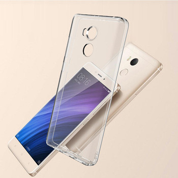 WeeYRN Transparent Soft Phone Case Xiaomi Redmi 4 Pro Funda Clear Ultra thin Silicone TPU Full Cover Xiaomi Redmi 4 Slim Case xiaomi redmi s2 case cover transparent ultra thin soft silicone silm plating edge tpu back cover for xiaomi redmis2 phone coque