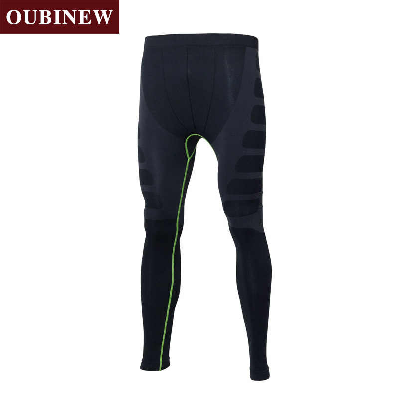 OUBINEW Mens Full Length 2017 New Absorb sweat fashion Trousers quick-drying Fitness Trousers Mens Clothing Free Shipping