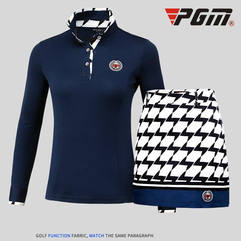2018 PGM produits style dames T-shirts haut élastique golf à manches longues femmes maillots mince sport vêtements pour femmes taille S-XXL