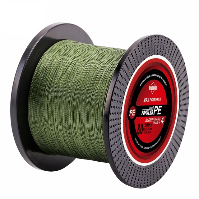 Quality 500M Brand Blade Series Good Quality Multifilament Fish Line Rope 8 10 20 30 40 Japan PE Braided Fishing Line