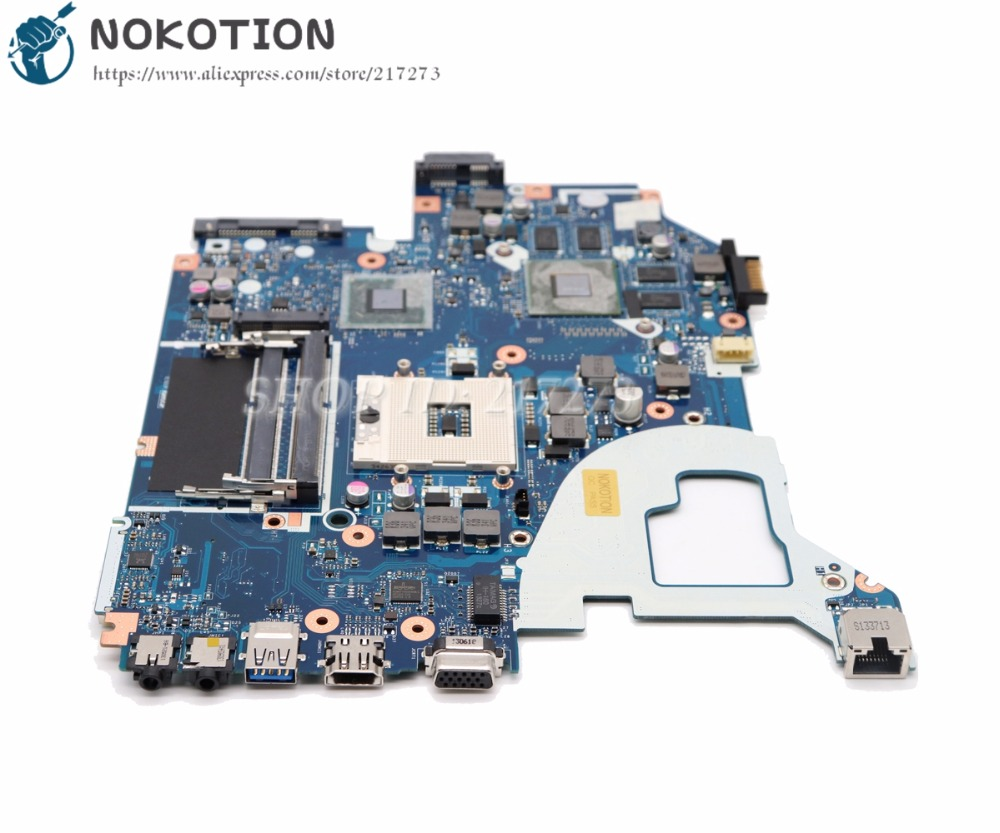 NOKOTION NB.RZP11.001 Motherboard For Acer aspire V3-571 V3-571G Laptop MAIN BOARD NBRZP11001 Q5WVH LA-7912P GT640M 2GB nokotion qiwy3 la 8001p main board for lenovo y480 laptop motherboard gt640m 2gb graphics full tested