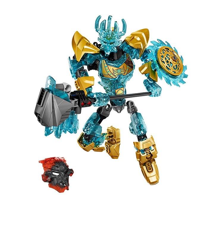 KSZ 613-1 Compatível com Legoings Bionicle 71312 Ekimu o Fabricante da Máscara Bioquímico Guerreiro Fabricante de Bloco de Construção de Brinquedos