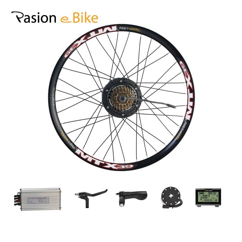 Pasion E Bike Rear Hub Wheel Conversion Kits 36V 48V 250W