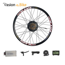Pasion E Bike Rear Hub Wheel Conversion Kits 36V 48V 250W Electrical Bike Conversion Kit With 15A Controller For Mountain Bike(China)