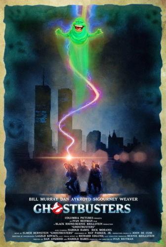 Ghostbusters - Ghost Hunter Adventure Suspense Movie Silk Poster Art Bedroom Decoration 1475 image