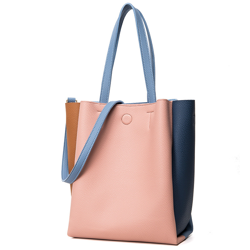 Woman Bags 2017 Female Fashion Tote Bags Girl Pu Leather Shoulder Bag Bucket Crossbody  Messenger Bolas Feminia Handbags