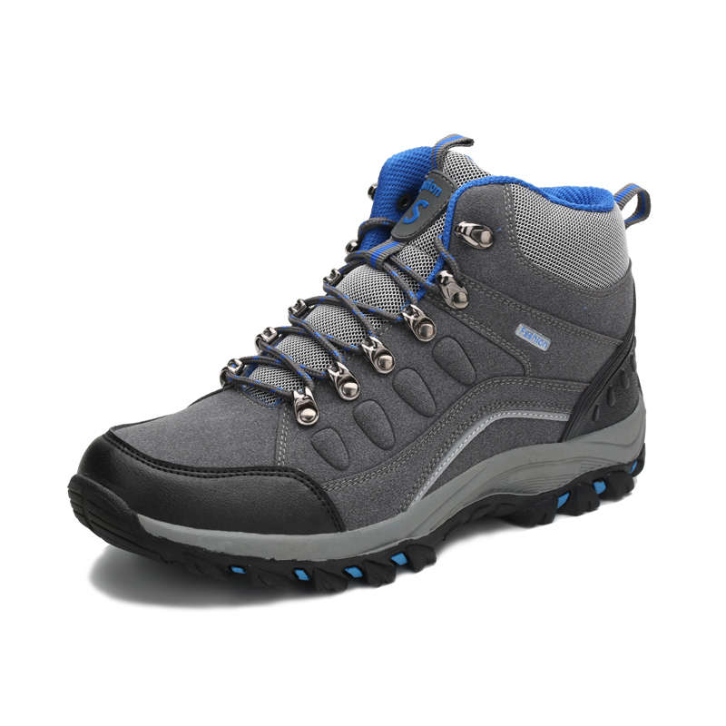 Hiking Shoes Boot Men Waterproof Lace UpMountain Trainers Sports Sneakers