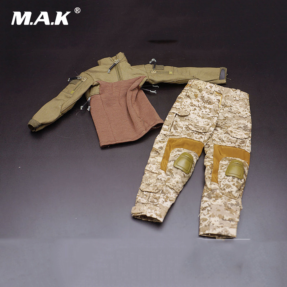1/6 US Army Seal Captain Combat Clothing Sets Soldier Figure Clothes for 12 inches Man Action Figure Body Doll 1 6 scale star wars female clothes rey costume combat uniforms girl clothing for 12 inches action figure body
