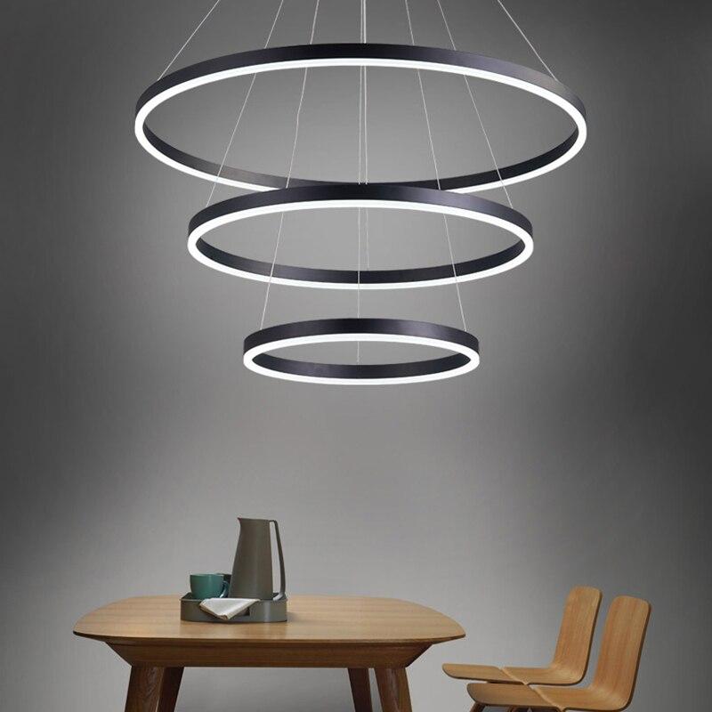 New Creative modern LED pendant lights for living Room Dining Room Kitchen suspension hanging pendant lamp lampadario moderno