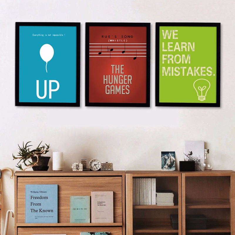 Inspiring Quotes Art Modern Art Oil Painting Canvas Art Posters And