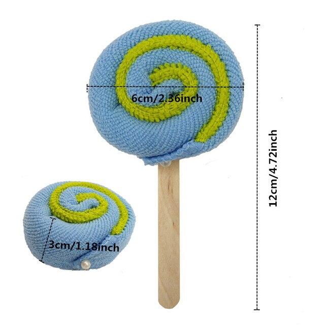 30pcs/lot Lollipop Towel Festive Birthday Party Favor Present Gift Home Decorative Accessories Supplies Gear Stuff Product 1