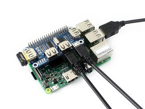 Image 3 - Waveshare convertisseur USB vers UART, 4 ports USB pour Raspberry Pi 2B/3B/3B +/Zero/Zero W, compatible avec USB 2.0/1.1